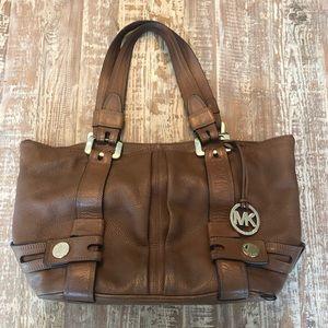 Michael Kors Brown Leather Large Bag